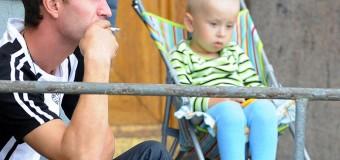 Курящие отцы увеличивают шансы развития астмы у будущих детей