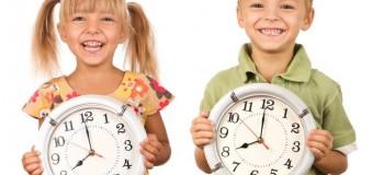 Режим дня ребенка — что должны знать родители