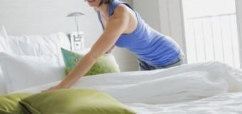 Кровать нельзя застилать сразу после сна