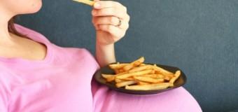 Повышенное употребление жира будущей матерью увеличивает сердце ребенка