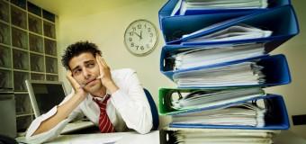 Стресс на работе так же вреден как пассивное курение