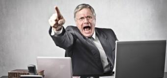 Характер начальника влияет на здоровье подчиненных